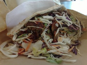 A picture of a Donner Kebab